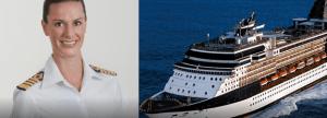 kapten wanita kapal pesiar
