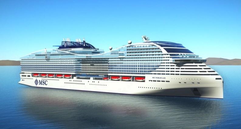 MSC Cruises Tandatangani Perjanjian Proyek Dua prototipe baru Pesanan sampai Perusahaan Kelas Dunia